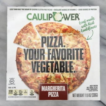 Gluten-free pizza by Caulipower from GrubMarket