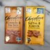 Gluten-free chocolate bars by Chocolove