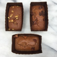 Gluten-free paleo banana bread by Surya Spa Bread