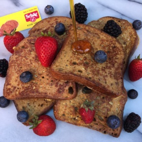 Gluten-free French toast with bread by Schar