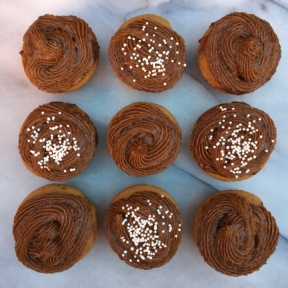 Double Maple Cupcakes using maple syrup from The Maple Guild