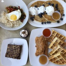 Gluten-free brunch from Jewel's Bakery and Cafe