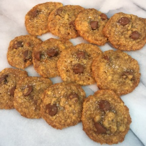 Salted Chocolate Chip Cookies with Redmond Real Salt