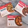 Gluten-free frozen entrees by Grainful