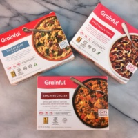 Gluten-free frozen entrees by Grainful