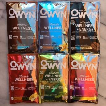 Gluten-free protein powder by OWYN