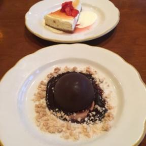 Gluten-free desserts from Nizza