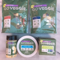 Gluten-free vegan cheese products by GO VEGGIE