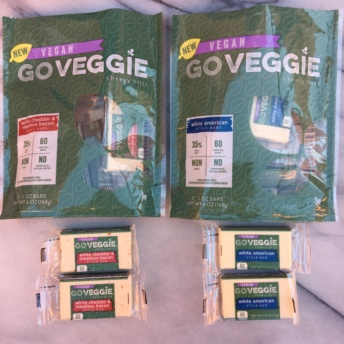 Gluten-free and dairy-free cheese by GO VEGGIE