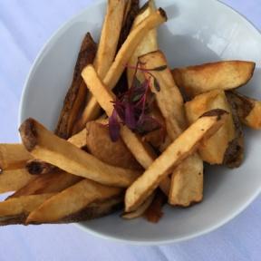 Gluten-free fries from Aroha