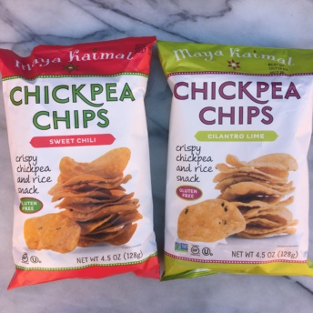 Gluten-free non-GMO project verified chips by Maya Kaimal