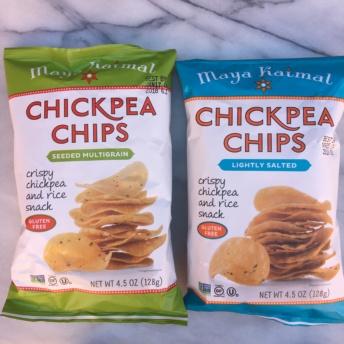 Gluten-free chickpea chips by Maya Kaimal