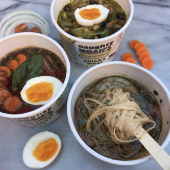 Gluten-free vegan pho noodles by Naughty Noah's