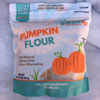 Gluten-free pumpkin flour from Glean