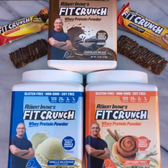 Gluten Free Protein Bars And Powders By FIT Crunch