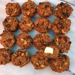 Gluten-free Cran-Apple Muffins