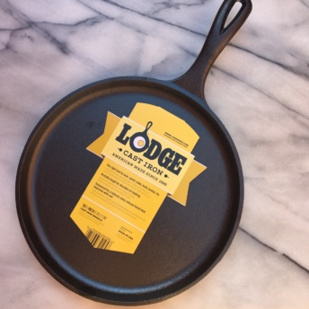 Cast iron griddle by Lodge Cast Iron