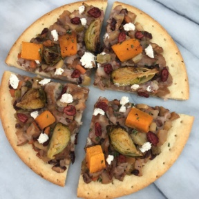 Gluten-free Thanksgiving Leftovers Pizza