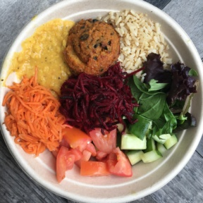 Falafel bowl from Local Leaf