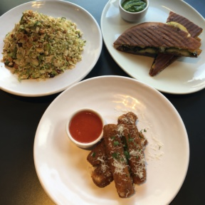Gluten-free starters and panini from Tali