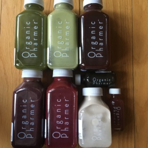 One day juice cleanse from Organic Pharmer