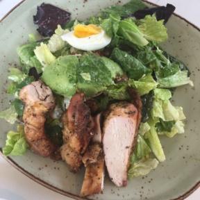 Gluten-free chicken Cobb salad from Tender Greens