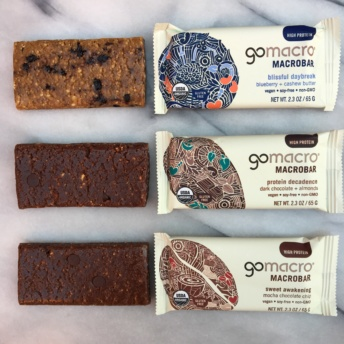 New gluten-free vegan bars from GoMacro