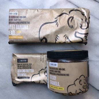 Paleo granola and baked goods from Base Culture