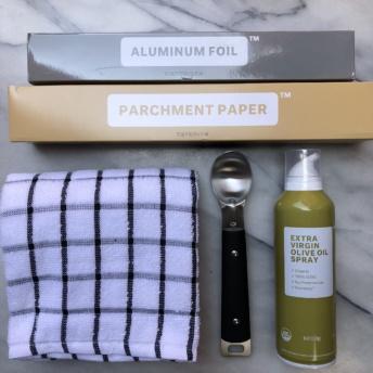 Kitchen supplies from Brandless