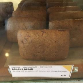 Gluten-free banana bread from Green & Tonic