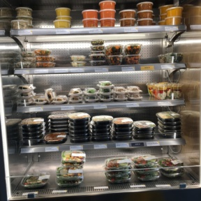 Salads and wraps from Green & Tonic
