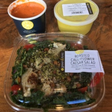 Salad and soups from Green & Tonic