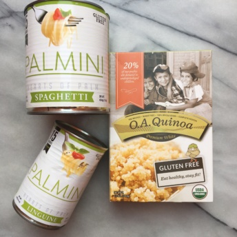 Gluten-free quinoa and hearts of palm pasta by Palmini