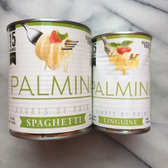 Gluten-free hearts of palm spaghetti and linguine by Palmini