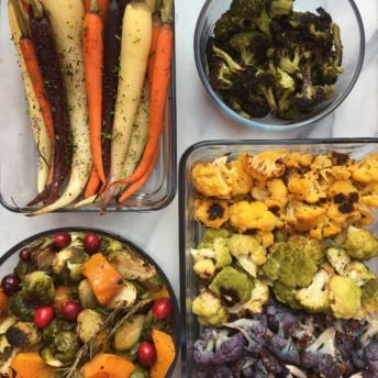 Gluten-free roasted vegetables