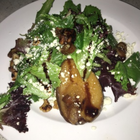 Pear salad from Lulu California Bistro