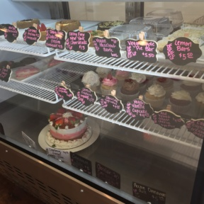 Gluten-free desserts at Twice Baked in Long Beach
