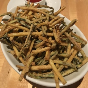 Gluten-free zucchini fries from Char