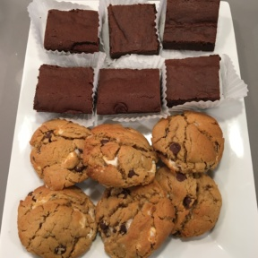 Gluten-free cookies and brownies from Seattle Cookie Counter
