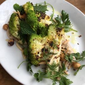 Cauliflower dish from The London Plane