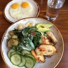 Chicken Cobb salad from Miller's Guild