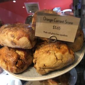 Orange currant scone from Macrina Bakery