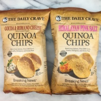 Quinoa chips by The Daily Crave