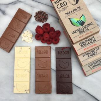 Organic chocolate by Thera Treats