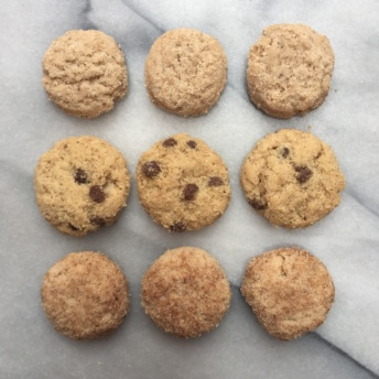 Gluten-free crunchy cookies by Bakeology