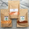 Gluten-free spices and red lentils from Fassica
