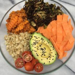 Vegetarian Cauliflower Rice Bowl