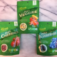 Fruit and veggies from Karen's Naturals