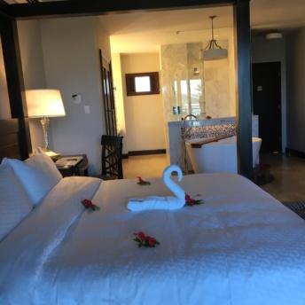 Jackie's room at Sandals Royal Caribbean