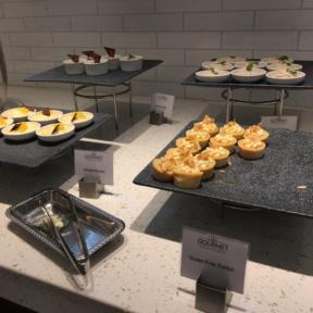 Gluten-free dessert station day 1 at The Regency